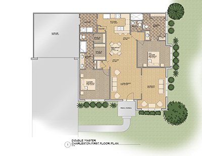 The Charleston Floor Plan @ Old Silo Hill